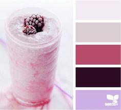 Chilled tones palette