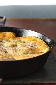 Apple Oven Pancake Recipe from our friends at Bisquick
