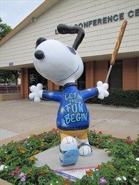 State Fair Snoopy - Falcon Heights, MN - Peanuts Characters on Waymarking.com