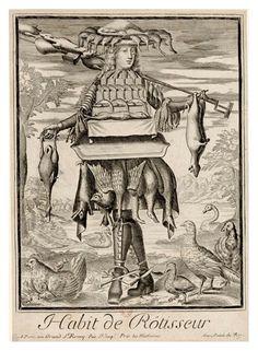 Nicolas Larmessin Costumes Grotesques Habit metier 67 Costumes grotesques et métiers de Nicolas de Larmessin histoire featured design