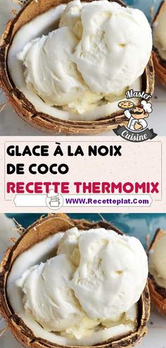 Dessert Thermomix, Milkshake, Popsicles, Biscotti, Mousse, Yogurt, Food And Drink, Ice Cream, Favorite Recipes