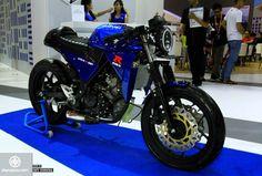 Berkenalan dengan Suzuki GSX R 150 Cafe Racer
