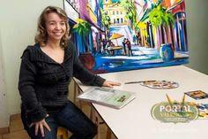 Maria José Marchiori.Professora e artista plástica. do Ateliê Marchiori Valenca -RJ