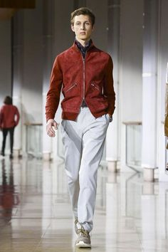 Hermes Menswear Fall Winter 2016 Paris