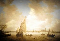 Jan van Goyen - View of Dordrecht