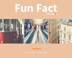 #Wien spricht über 100 Sprachen. #Vienna speaks over 100 languages.  #urlaubsbox #reisen #funfact #travel #sprachen #languages Hotels, Fun Facts, Movie Posters, Movies, Travel, Languages, Wtf Fun Facts, Films, Film