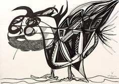 """B"" #art #paintings #painting #paint #penandink #watercolors #oils #books #tv #kids #education #cartoon #animation #inspiration #Yorkshire #terriers #meteorites #stronomy #turbo #turboshouse #zaquelinesouras #zsouras"