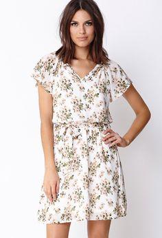 Whimsy Garden Shift Dress | FOREVER21