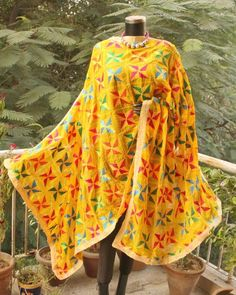 Champa Qali was founded in September 2011 as an endevour to find the Xany happiness,creativity & eclectic streak in the young modern Indian woman! Phulkari Embroidery, Hand Embroidery, Phulkari Suit, Lehenga, Saree, Heavy Dupatta, Patiala Salwar, Indian Suits, Embroidery Fashion