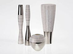 ANTITHESIS GOLD AND PLATINUM Ваза by Fos Ceramiche
