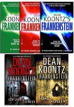 Frankenstein Collection of 5 Books by Dean Koontz #Fankenstein #Horror #LostSouls #TheDeadTown #AdultFiction #Book http://www.snazal.com/dean-koontz-frankenstein-collection-5-books-set-pack--DEALMAN-U11-DeanKoontzsFran-5bks.html