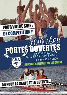 Journées Portes Ouvertes Club Nautique Libourne. Du 30 au 31 août 2014 à libourne.