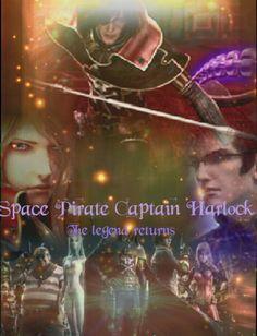 Space Pirate Captain Harlock, Pirates, Movie Posters, Film Poster, Billboard, Film Posters