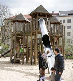 Die schönsten Spielplätze in Berlin: Piratenschiffe, Drachen oder Ritterburgen - Viele Berliner Spielplätze sind kreativ und kindgerecht gestaltet. Die schönsten finden Sie in unserer Übersicht.