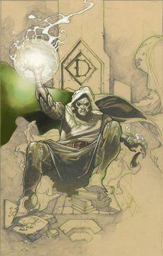 Doctor Doom by Simone Bianchi *