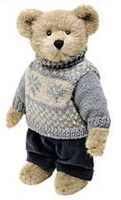 Click here to go to our selection of Boyds' T.J.'s Best Dressed Christmas Teddy Bears