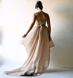 Wedding dress Woodland wedding dress Wedding Gown by LoreTree