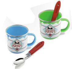 Mug pot de peinture, joli n'est-ce pas ? #mug
