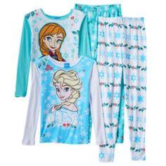 Disney's Frozen Elsa & Anna Pajama Set - Girls 4-10