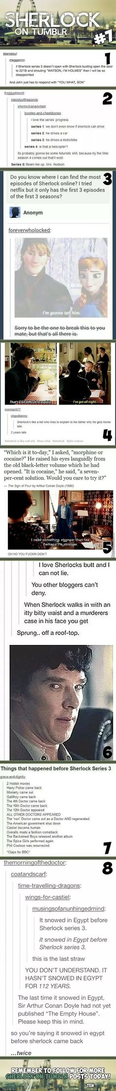 Sherlock On Tumblr #7