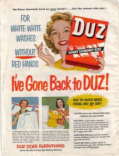 Duz Laundry Soap Advertisment 1951 by jackie121467, via Flickr