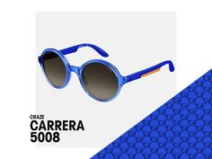 A circular design for edgy women. Inspired by the 60s the Carrera 5008 takes style up a notch.