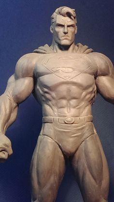Jim Lee Superman WIP by davjames.deviantart.com on @deviantART