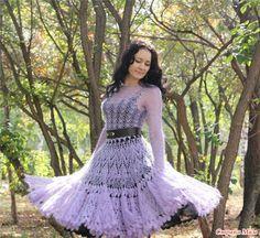 Платье из мохера от Лилиты