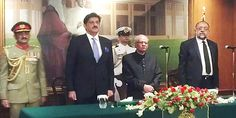 Justice Saeed-uz-Zaman takes oath as Sindh governor in Karachi