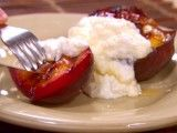 Cooking Channel serves up this Grilled Fruit with Honey and Ricotta recipe from Dave Lieberman plus many other recipes at CookingChannelTV.com