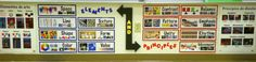 Eggers Art Room Organization - Elements and Principles Posters (below my white board, at eye-level for students seated on the carpet)