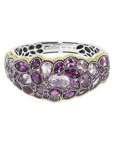 Lagos Ombre Amethyst Gemstone Bracelet