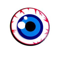 Clearance - EYE SEE YOU layered acrylic brooch (26.00 USD) by Baccurelli