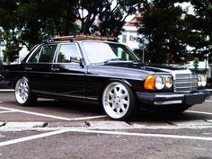 Mercedes-Benz W123 + Brabus Monoblock III