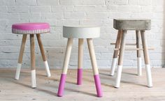 Roundup: 12 Stylish Stools and Benches You Can Make Yourself » Curbly | DIY Design Community