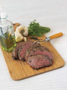 Leg of Lamb with Herbs