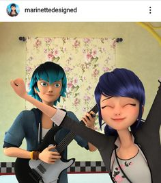 Luka practiced one of his new songs for me today! It's AMAZING, been stuck in my head all day! Meraculous Ladybug, Ladybug Comics, Lady Bug, Luka Miraculous Ladybug, Ladybug Und Cat Noir, Cartoon Ships, Miraculous Characters, Miraculous Ladybug Wallpaper, Marinette Dupain Cheng