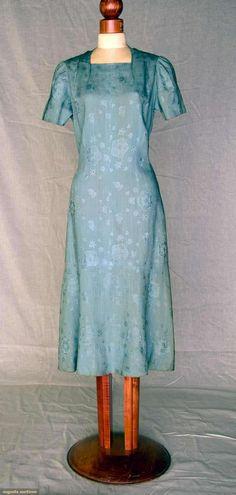 Schiaparelli Day Dress, Summer 1937, Augusta Auctions, November 10, 2010 - St. Pauls - NYC, Lot 354