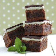 Deliciously decadent chocolate mint brownies