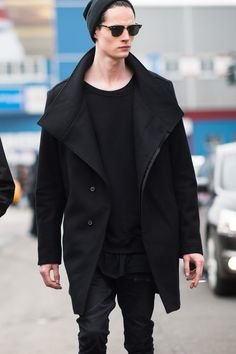 Andrew Westermann at NYFW F/W 2014 by Adam Katz Sinding