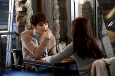 "Kim Jaejoong and Go Sung Hee Enjoy a Date in Preview Stills from ""Spy"" Drama - KBS 2015"