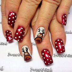 christmas by sweetalize #nail #nails #nailart