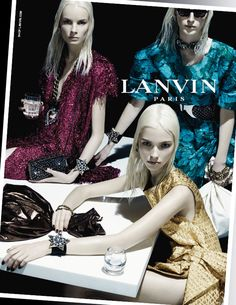 Lanvin Spring Summer 2014 Campaign by Steven Meisel