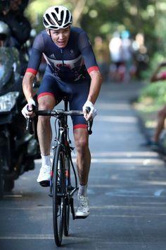 Leider chancenlos: Christopher Froome, Sieger der Tour de France, hatte beim...