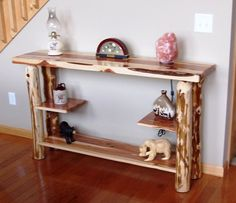 Sofa Table Rustic Red Cedar Hancrafted Log Furniture Best Prices Anywhere |