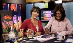 Decoupage on Canvas : Crafts : The Home Channel