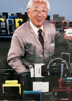Sony's Akio Morita Sony Electronics, Altec Lansing, Cassette Recorder, Boombox, Audio Equipment, Technology Gadgets, Radios, Vinyl Records, Innovation