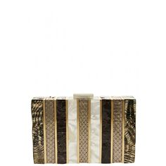 Take our quiz to discover your Spirit Print! Kaiss Minuadiere Clutch