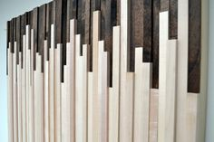 Rustic Wood Wall Art Wood Sculpture Wall by moderntextures on etsy