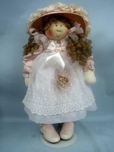 """24"""" Girl in Pink by Gretchen Wilson (Little Souls) 2004 - Swanky Souls"""